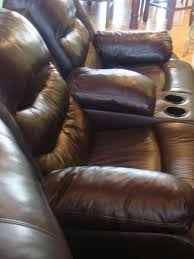 Clean Leather Sofa by Elegant Interior And Furniture Layouts Pictures Orange Leather