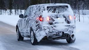 land rover snow 2017 land rover discovery caught testing in the snow