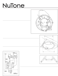 nutone heat vent light 9093 nutone blower qt 9093 user guide manualsonline com