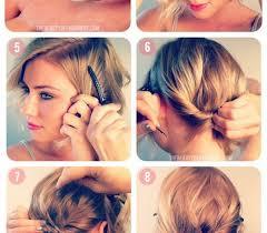 Hochsteckfrisurenen Mit D Nen Haaren by Haare Styles Lässige Hochsteckfrisur Für Kurze Haare Haare Styles