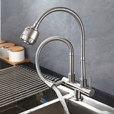 kitchen water faucets aliexpress buy 304 stainless steel kitchen faucet single