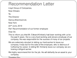 how to write a letter of recommendation for someone you don t know
