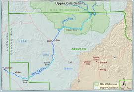 Arizona New Mexico Map Fact Sheet Gila River Nm Unit Of The Central Arizona Project