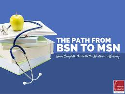 the path from bsn to msn your complete guide to the master u0027s in