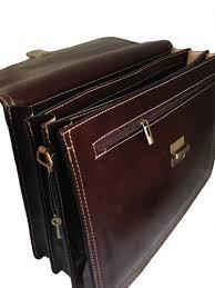 borsa porta documenti ctm borsa uomo moro 24 ore porta documenti 41x31x18cm vera pelle