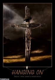 jesus skeleton hanging on the cross pictures freaking news