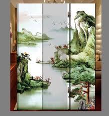 shoji room divider oriental style 3 panel foldable shoji screen room divider chinese