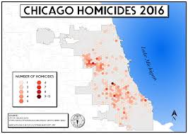 Chicago Homicide Map by Chicago Homicides 2016 4067 2894 Mapporn