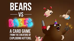 bears vs babies a card by elan kickstarter