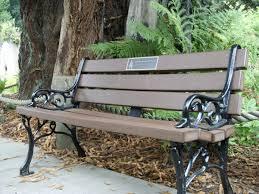 Outdoor Benches Canada Memorial Garden Benches Canada Home Outdoor Decoration