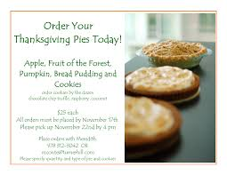 the golf club at turner hill thanksgiving day pies