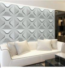 3d wall decorative 3d wall panels design pack of 12 tiles plant