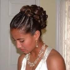 black hair buns 43 black wedding hairstyles for black women