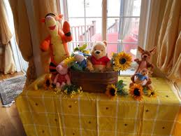 how to use winnie the pooh theme on your baby shower baby shower