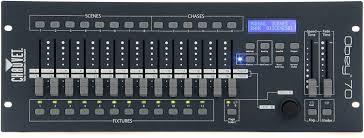 chauvet dj obey 70 universal dmx 512 controller led
