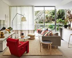 Modern Living Room Curtains Houzz - Curtains family room