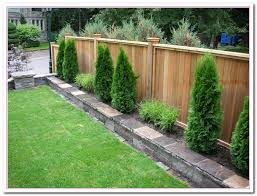 fence ideas for small backyard elegant backyard wood fence ideas garden design garden design with