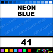 Powder Blue Paint Color by Neon Blue Wax Colours Encaustic Wax Beeswax Paints 41 Neon