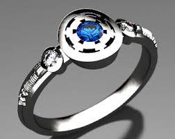 wars wedding ring rebel alliance wars engagement ring in palladium white