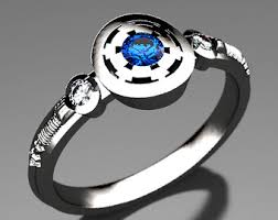 wars wedding ring wars wedding etsy