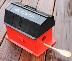 diy see rock city barn birdhouse intelligent domestications