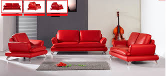 Modern Leather Sofa Rainbow Foam Factory