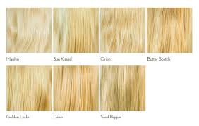 Types Of Hair Colour by Types Of Hair Color Chart Best Hair 2017
