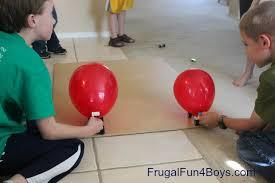 Balloon Challenge Lego Friday Balloon Powered Car Building Challenge