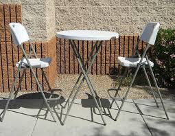 Folding Bistro Table And 2 Chairs Latest Folding Bistro Table And Chairs Set With Folding Bistro