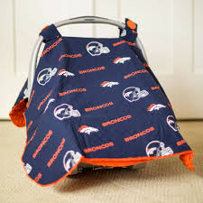 Universal Car Seat Canopy by Denver Broncos Seat Covers Velcromag