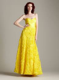 yellow dresses for weddings yellow dress bridesmaid vosoi