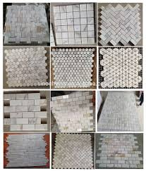crazy pattern stone marble mosaic tile for house decoration buy