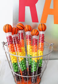 basketball party supplies harmony color candy in ideas decor on the top of pack