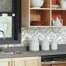 peel and stick backsplash for kitchen stick tiles peel and stick tile backsplashes roommates