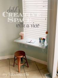 Diy Childrens Desk by Exciting Diy Desks For Small Spaces Pictures Ideas Amys Office