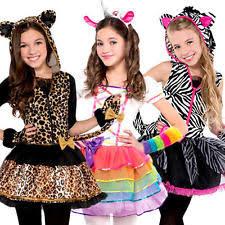 Halloween Costumes Girls 9 10 Girls Cat Halloween Costumes Ebay