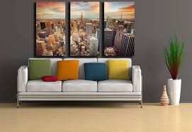 new york city skyline wall art shenra com new york city wall art new york sunset large new york city art