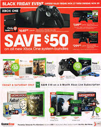 black friday ps4 gamestop u0027s black friday 2015 ad leaks deals for xbox one and
