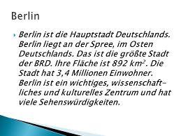 größte stadt deutschlands fläche herzlich willkommen in berlin ppt herunterladen