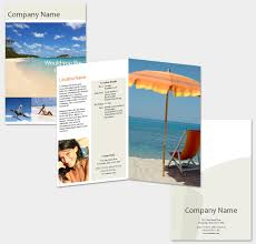 travel and tourism brochure templates free free travel brochure template