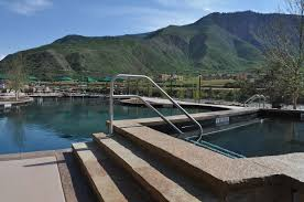 Mountain Lake Pool Design by Soak In The Sunset At Iron Mountain Springs In Glenwood
