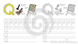 all worksheets letter q handwriting worksheets printable