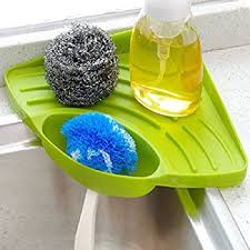 Kitchen Sink Brush Buytra Sponge Holder Kitchen Sink Caddy Suction Cup
