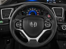 image 2015 honda civic coupe 2 door cvt ex l steering wheel size