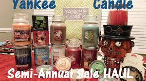 yankee candle semi annual sale haul sas 2016