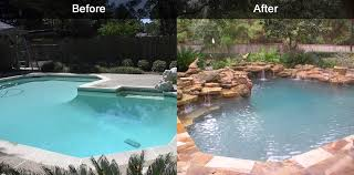 Backyard Renovations Before And After Poolrenovation We Fix Ugly Pools Kiosk 01