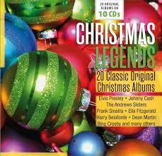 christmas cds christmas legends 20 classic original christmas albums 10 cds jpc