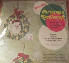 view from the birdhouse bucilla vintage christmas craft kits