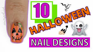 10 halloween nail art designs you have to try youtube