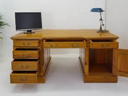 Schreibtisch Echtholz Buro Schreibtisch Partner Design